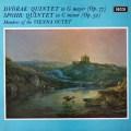 【オリジナル盤】ウィーン・オクテットのドヴォルザーク/五重奏曲   英DECCA 3021 LP レコード