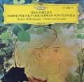 【独最初期盤】カラヤンのシベリウス/交響曲第4番ほか    独DGG 3021 LP レコード