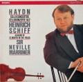 シフ&マリナーのハイドン/チェロ協奏曲第1&2番    蘭PHILIPS 3021 LP レコード