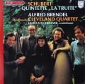 ブレンデル&クリーヴランド四重奏団のシューベルト/ピアノ五重奏曲「鱒」     仏PHILIPS 3021 LP レコード