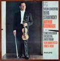 グリュミオーのベルク&ストラヴィンスキー/ヴァイオリン協奏曲集    蘭PHILIPS 3021 LP レコード