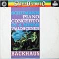 バックハウス&ヴァントのシューマン/ピアノ協奏曲ほか    英DECCA 3021 LP レコード