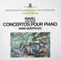ケフェレック&ロンバールのラヴェル/ピアノ協奏曲集    仏ERATO 3021 LP レコード