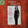 【独最初期盤】カラスのモーツァルト、ベートーヴェン&ウェーバー/アリア集    独Columbia 3021 LP レコード