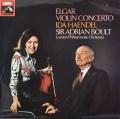 【オリジナル盤】イダ・ヘンデル&ボールトのエルガー/ヴァイオリン協奏曲   英EMI 3021 LP レコード
