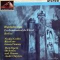 【オリジナル盤】クリュイタンスのベルリオーズ/「ファウストの劫罰」抜粋   英EMI 3021 LP レコード
