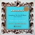 クレンペラーのブラームス/交響曲第2番&悲劇的序曲   英Columbia 3021 LP レコード
