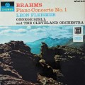 【オリジナル盤】フライシャー&セルのブラームス/ピアノ協奏曲第1番   英Columbia 3021 LP レコード