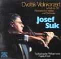 スーク&アンチェルのドヴォルザーク/ヴァイオリン協奏曲&「ロマンス」   独SUPRAPHON 3021 LP レコード