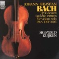 クイケンのバッハ/無伴奏ヴァイオリンのためのソナタ&パルティータ全曲   独HM 3021 LP レコード