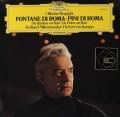 カラヤンのレスピーギ/「ローマの噴水」&「ローマの松」  独DGG 3022 LP レコード