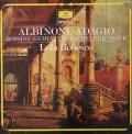 ボベスコのアルビノーニ/「アダージョ」ほか  蘭DGG 3022 LP レコード