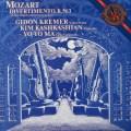 クレーメル&ヨーヨー・マらのモーツァルト/弦楽三重奏のためのディヴェルティメント 蘭CBS 3022 LP レコード