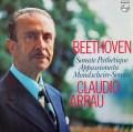 アラウのベートーヴェン/「三大ソナタ」 蘭PHILIPS 3022 LP レコード