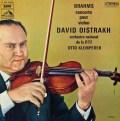 オイストラフ&クレンペラーのブラームス/ヴァイオリン協奏曲  仏EMI(VSM) 3022 LP レコード