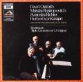 オイストラフ、ロストロポーヴィチ、リヒテル&カラヤンのベートーヴェン/三重協奏曲  仏EMI(VSM) 3022 LP レコード
