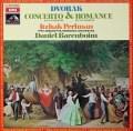 パールマン&バレンボイムのドヴォルザーク/ヴァイオリン協奏曲ほか  仏EMI(VSM) 3022 LP レコード