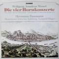バウマン&ハーガーのモーツァルト/ホルン協奏曲集  独TELEFUNKEN 3022 LP レコード