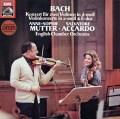 ムター&アッカルドのバッハ/2つのヴァイオリンのための協奏曲ほか  独EMI 3024 LP レコード