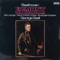 セルのベートーヴェン/劇音楽「エグモント」    独DECCA 3024 LP レコード