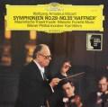 ベームのモーツァルト/交響曲第29&35番「ハフナー」ほか  独DGG 3024 LP レコード