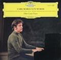 【テストプレス】チアーニのウェーバー/ピアノソナタ集  独DGG 3024 LP レコード