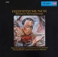 ミュンシュ&ハイフェッツのメンデルスゾーン/ヴァイオリン協奏曲ほか  独RCA 3024 LP レコード