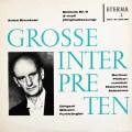 フルトヴェングラーのブルックナー/交響曲第9番   独ETERNA 3024 LP レコード