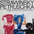 【サイン入り】マゼールのストラヴィンスキー/バレエ音楽「ペトルーシュカ」1911年版  独eurodisc 3024 LP レコード
