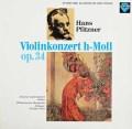 ラウテンバッハーのプフィッツナー/ヴァイオリン協奏曲  独SAPHIR 3024 LP レコード