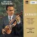 シェリングのバッハ/ヴァイオリン協奏曲第1&2番  仏ODEON 3024 LP レコード