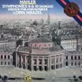 マゼールのマーラー/交響曲第9&10番   蘭CBS 3024 LP レコード