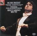 ムーティのシューベルト/交響曲第8番「ザ・グレート」  独EMI 3026 LP レコード