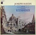 クレンペラーのハイドン/交響曲第92番「オックスフォード」&95番  独EMI 3026 LP レコード