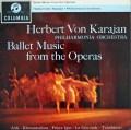 カラヤン/オペラ・バレエ曲集  英Columbia 3026 LP レコード