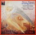 プラッソンのマニャール/交響曲第4番ほか  仏EMI(VSM) 3026 LP レコード