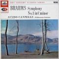 カンテッリのブラームス/交響曲第1番   英EMI 3026 LP レコード