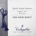 【オリジナル盤】ヴェーグ四重奏団のバルトーク/弦楽四重奏曲第3&4番  英Columbia 3026 LP レコード