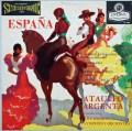 【ブルー・バック・ジャケット】アルヘンタの「スペイン!」 英LONDON 3026 LP レコード