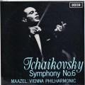 マゼールのチャイコフスキー/交響曲第6番「悲愴」  英DECCA 3026 LP レコード