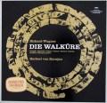 カラヤンのワーグナー/「ワルキューレ」全曲   独DGG 3026 LP レコード