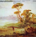 マズアのメンデルスゾーン/交響曲第4番「イタリア」&第5番「宗教改革」    独ETERNA 3026 LP レコード
