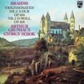 グリュミオー&シェベークのブラームス/ヴァイオリン・ソナタ第2&3番    蘭PHILIPS 3026 LP レコード