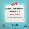 バックハウス&ベームのブラームス/ピアノ協奏曲第1番   英DECCA 3027 LP レコード