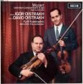 オイストラフ親子のモーツァルト/ヴァイオリンとヴィオラのための協奏交響曲ほか   英DECCA 3027 LP レコード