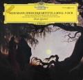ドロルツ四重奏団のシューマン/弦楽四重奏曲第1&2番   独DGG 3027 LP レコード