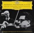 シュナイダーハン&フルトヴェングラーのベートーヴェン/ヴァイオリン協奏曲   独DGG 3027 LP レコード