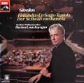 カラヤンのシベリウス/管弦楽曲集   独EMI 3027 LP レコード