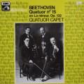 カペー四重奏団のベートーヴェン/弦楽四重奏曲第15番   仏EMI(VSM) 3027 LP レコード