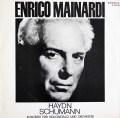 マイナルディのハイドン&シューマン/チェロ協奏曲集  独ETERNA 3027 LP レコード